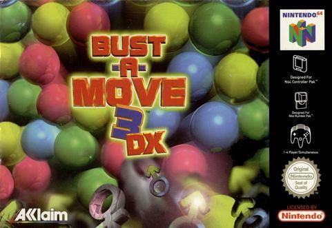 portada-Bust-a-move-3-DX-nintendo-64