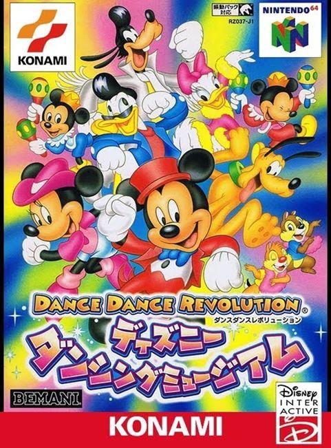 portada-Dance-dance-revolution-disney-dancing-museum-nintendo-64