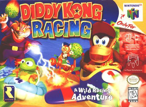 portada-Diddy kong-racing-nintendo-64
