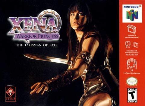 portada-Xena-warrior-princess-the-talisman-of-fate-nintendo-64